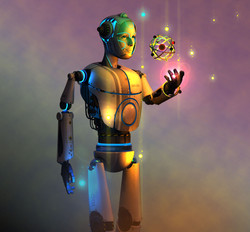 robot night Nathan Smith