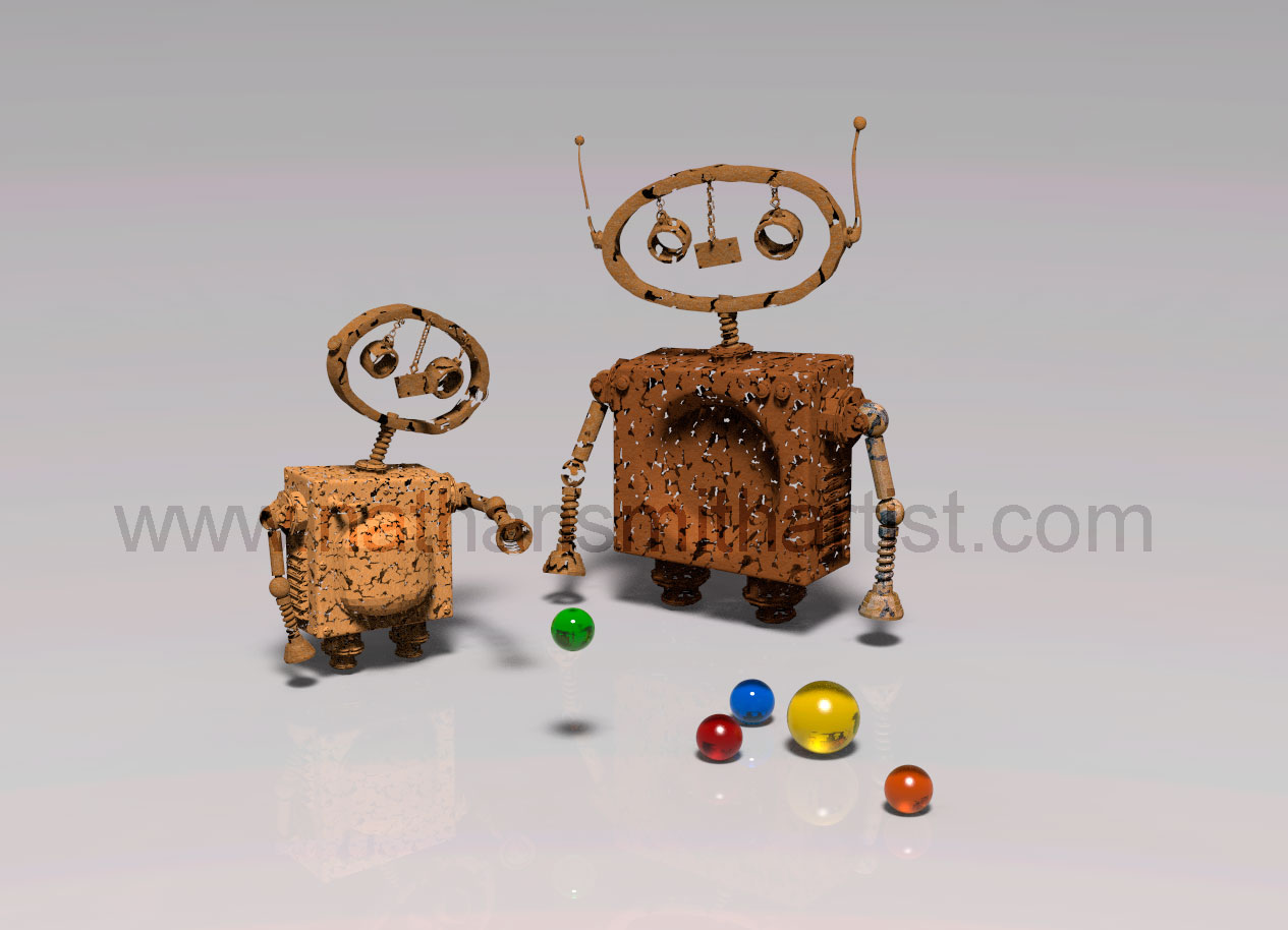 Marbles Robots Nathan Smith