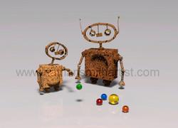 Marbles Robots Nathan Smith