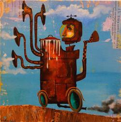 strange machine Painting