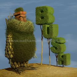 Bush,chimney pot,Topiary