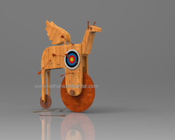 Wooden,Horse,target,nathan smith