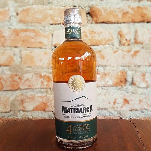 Cachaça Matriarca - 4 madeiras brasileiras