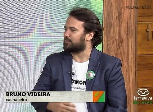 Cachaceiro Bruno Videira em entrevista para programa Bem da Terra - Band