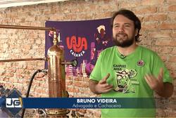 Cachaceiro Bruno Videira em entrevista para Jornal da Gazeta