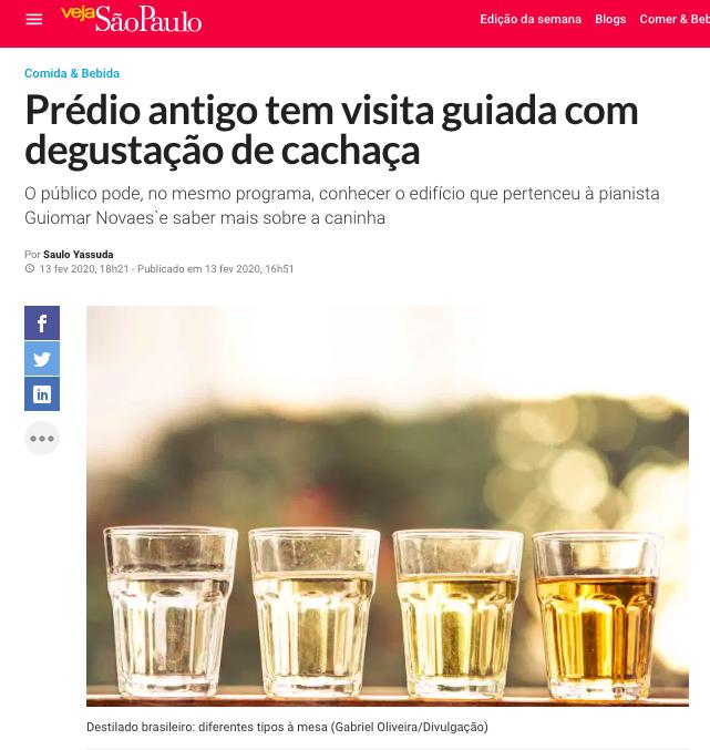 Viva Cachaça - Veja SP