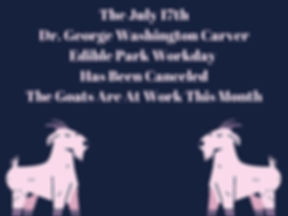 The July 17th Dr. George Washington Carv