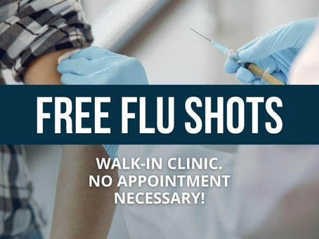 Free Flu Shots in November!