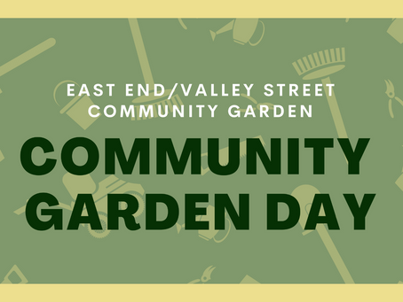 May 1 EEVS Community Garden Day!