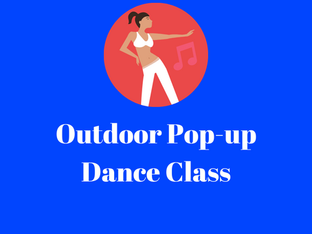 Outdoor Pop-up Dance Class