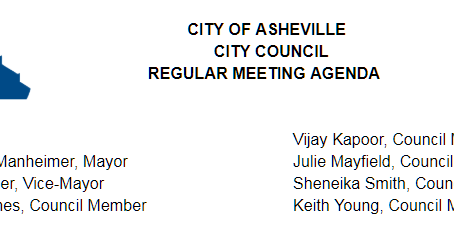 Asheville City Council Meetings