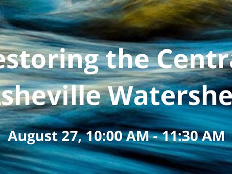 Event: Restoring the Central Asheville Watershed
