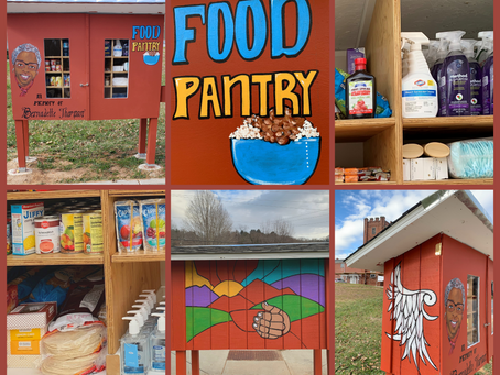 The Food Pantry Is Open