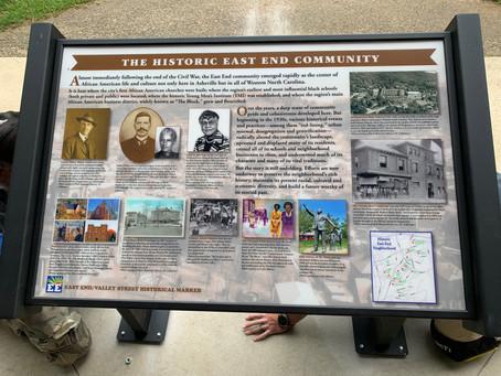 East End Historical Marker