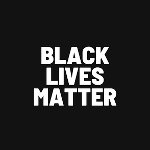 Black and White Black Lives Matter Insta
