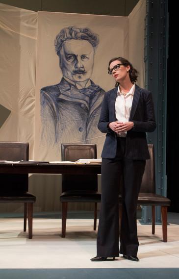 Sonja with Strindberg