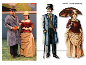 Yvonne and Jules Renderings
