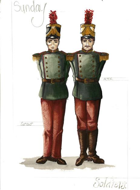 Soldiers Rendering