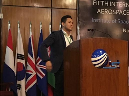 2017/11/13-17 Dr LT Hsu gives keynote speech at ICASE, Islamabad, Pakistan