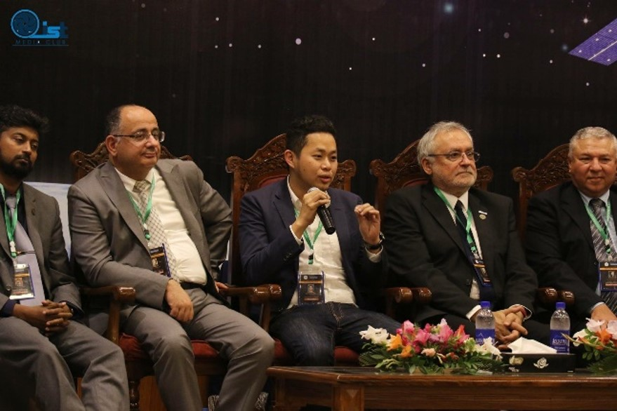 Dr LT Hsu gives keynote speech at ICASE, Islamabad, Pakistan