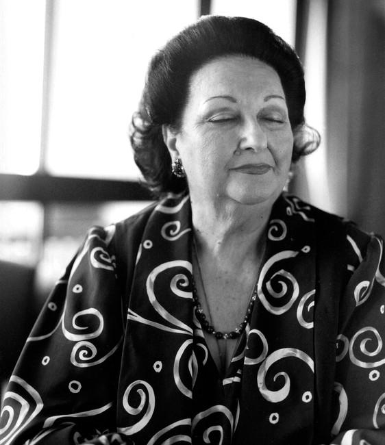 Montserrat Caballé for Die Zeit by Jan Northoff