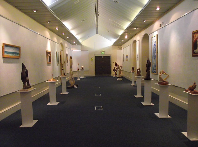 The Through The Eyes Of Time collection being exhibited at Sessions House