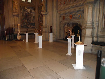 Exhibited work at the House of Commons upper waiting hall