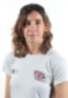 Melissa Reid, this is a picture of Melissa wearing her team GB T Shirt