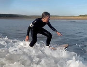 Picture of Victoria Claire Surfing.
