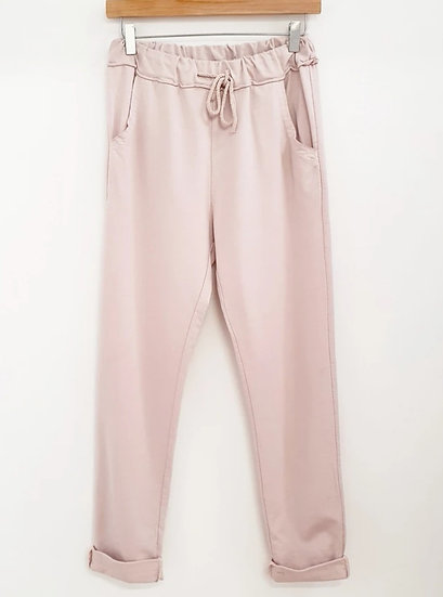 The Jegging Jogger -Pale Pink