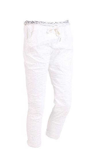 Italian Magic Pants Curve range (16-20+) -White