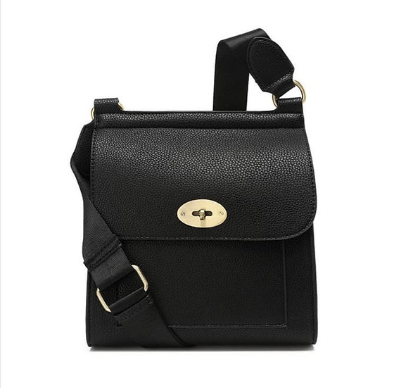 Mulberry Style Messenger Bag Small -Black