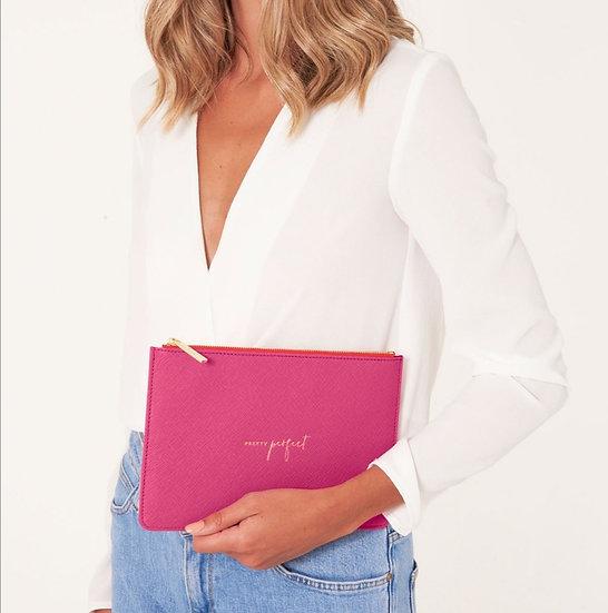 Pretty Perfect Clutch -Hot Pink