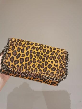 Italian Real Leather Leopard print Bag