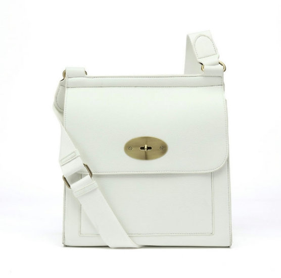Mulberry Style Messenger Bag Large -White
