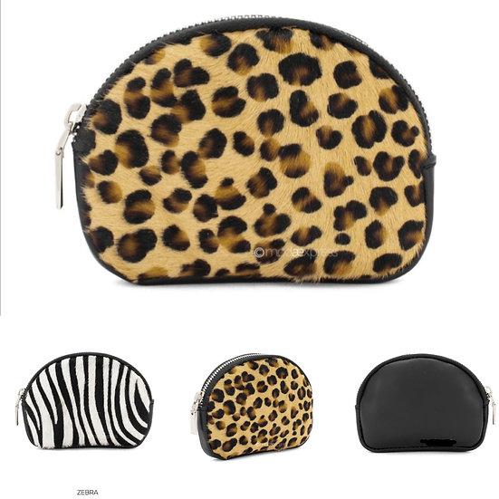 Animal Print Small Leather Purses