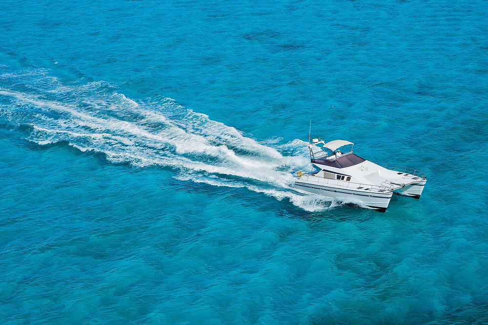 Private yacht transfers from Cancun