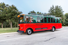 Trolley transport for guests