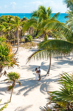 Elopement packages in Tulum Mexico