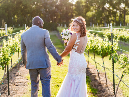 Winery Weddings in Fredericksburg Texas