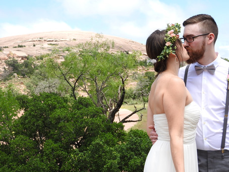 Elope at Enchanted Rock