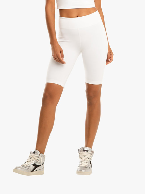 Ultra High Rise Blackout Short - White