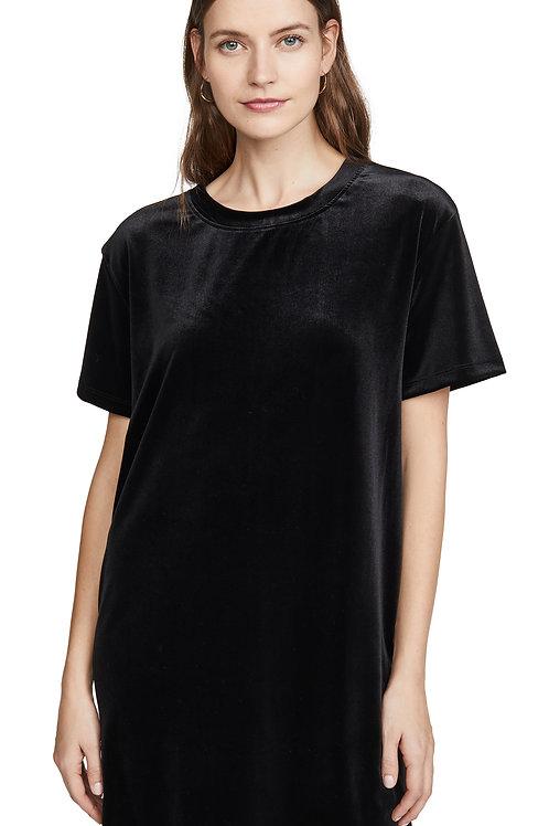 VELVET S/S T-SHIRT DRESS