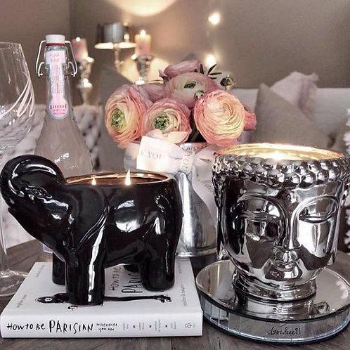 Elephant Collection - Black