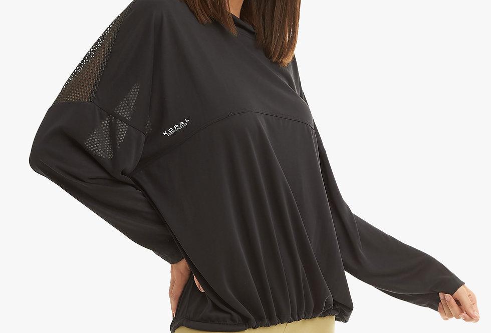 Prestige Long Sleeve Cupro Top