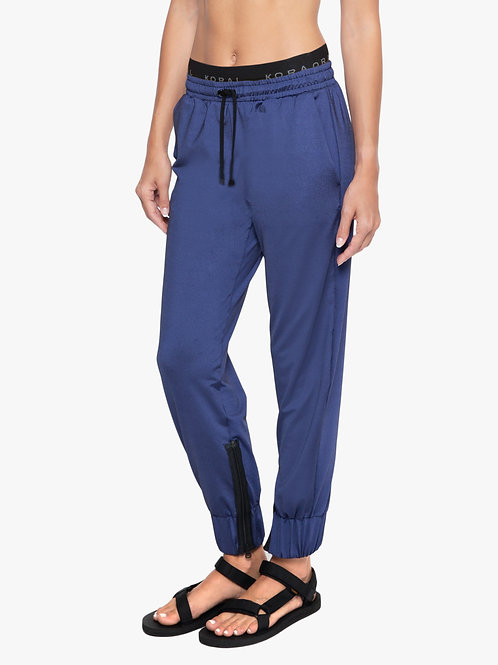 KORAL REVERIE SHANTUNG SWEATPANTS