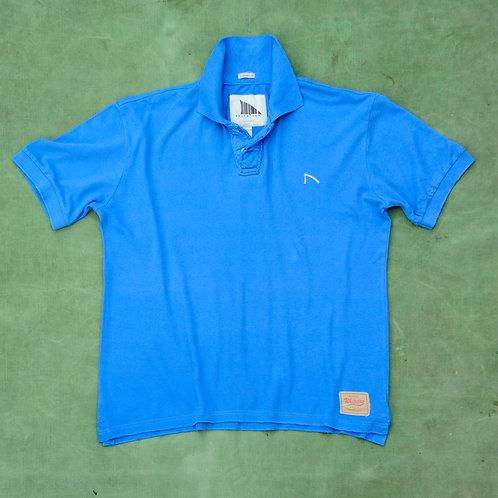 Blue Bass Polo Shirt