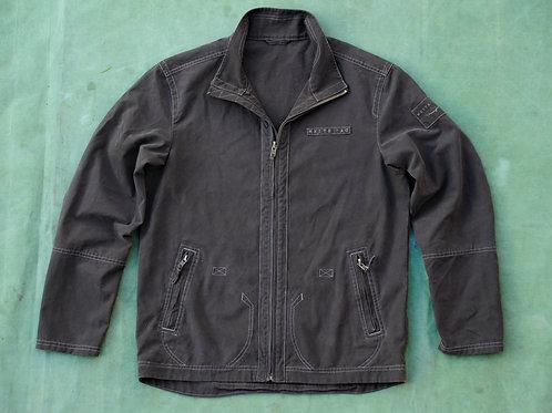 Windward Dark Basalt Canvas Zip Jacket