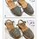 Thumbnail: Sandali RIA MENORCA glitter argento (da 23 a 33)