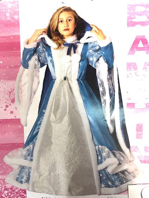 Vestito da Carnevale Principessa delle Nevi